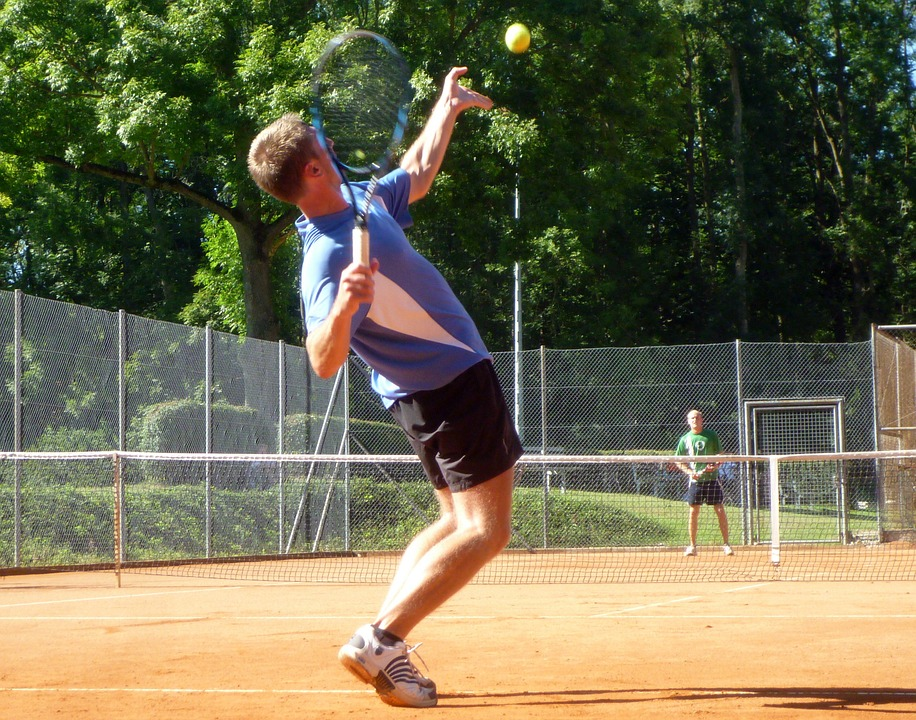 man playing tennis - 3 Types of Tennis Bets You Should Know