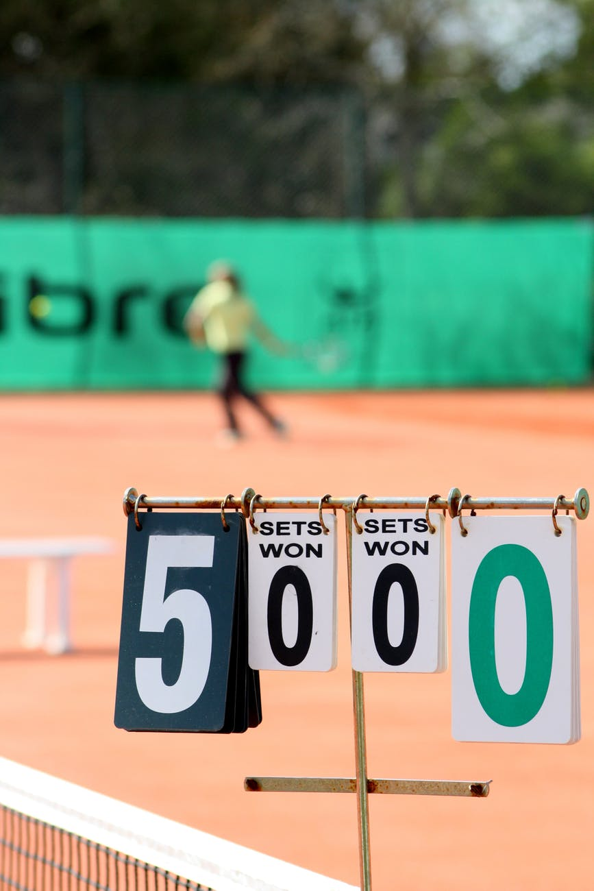 tennis score - 3 Types of Tennis Bets You Should Know